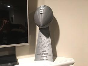Fantasy Football League Trophy