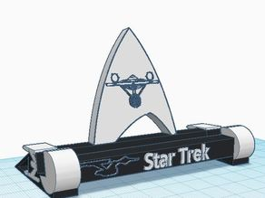 10 inch Tablet Stand Star Trek Anniversary Themed