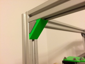 Cover / Cap for mounting corner bracket (30x30 extrusion)
