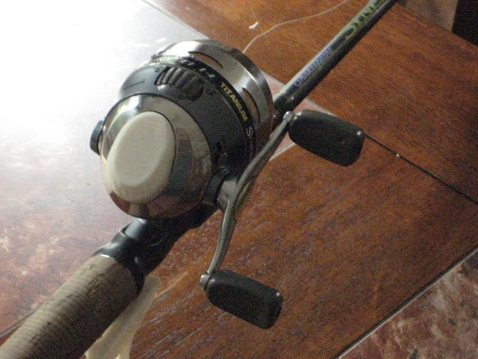 spincast rod and reel