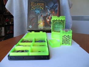 Elder Sign Components Organizers