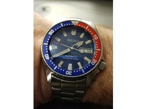 Seiko SKX013 7s26-0030 chapter ring for large dials/hands