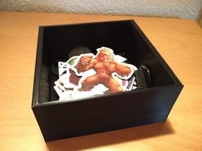 Cardboard Figures (Monster) box - insert for King of Tokyo