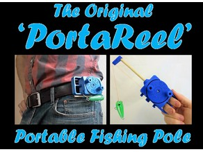 PortaReel Portable Fishing Pole
