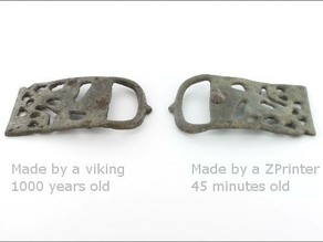 1000-year-old Viking belt buckle