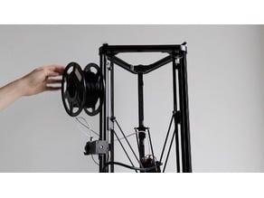 Filament Spool Holder | Delta 3D printer