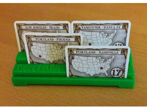 Ticket to ride objectif card holder v2