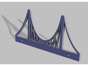 Bosphorus (Bogazici) Bridge for Brio, Thomas and Ikea wooden railway series