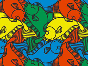 [another] M.C.Escher fish
