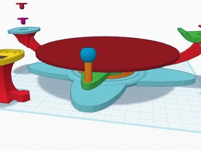 KINECT Turntable and Mount for 3D Scanning : First Ever TinkerCAD Design !
