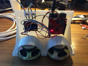 Open Arduino Case with Speakers