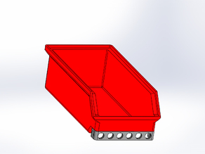 Box for organization and Stackable