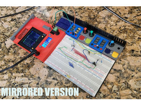 Modular Breadboard Kit - MIRRORED parts (with STEP files)