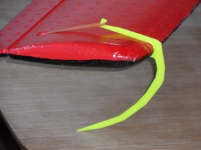 Skis for RC aircraft
