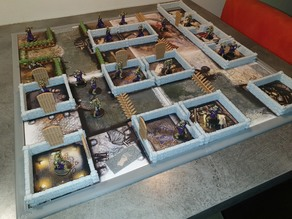 Zombicide Green Horde Furniture