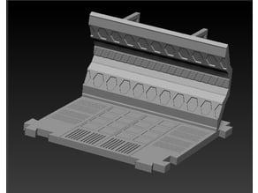 Space-lock modular tiles- Wall