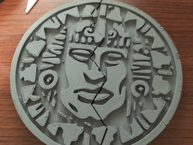 Legends of the hidden temple pendant of life full half by erikwwatts thingiview aloadofball Gallery