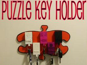 Puzzle Key Holder