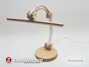 PianoLamp cnc/laser