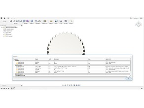 Parametric HTD5 pulley Fusion360