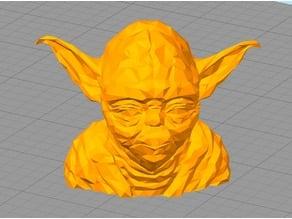 Lowest Poly Yoda