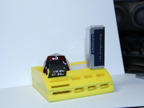 USB/SdCard Holder with random tray **UPDATED**