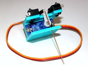 Servo Turnout Motor for Model Railroads