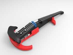 Easy printing Electric Violin.