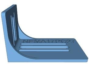 Focuser Bracket for NEMA17-PG27 for Crayford type focuser