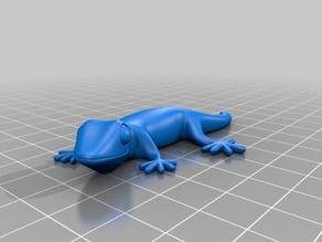 Gecko Fridge Magnet - 10x3mm version