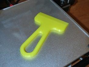Bed Scraper/Print Removal Tool