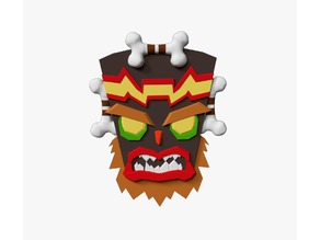 Uka Uka - Crash Bandicoot