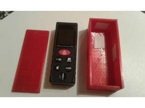 Laser box for digital distance laser meter