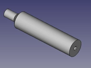 """Suppressor for .22 Air rifle - 12"""" UNF and AirArms"""
