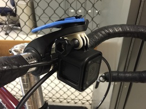 Quad Lock Out Front GoPro Adaptor