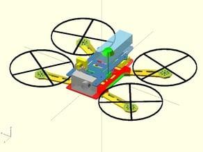 Mini spider 250 quadcopter v3