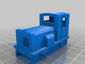 009 Locomotive for Kato chassis