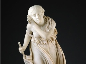 Nydia, The Blind Flower Girl of Pompeii, modeled 1855–56, carved 1858