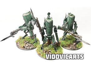 Iron Harvest Polonia Scout Mech