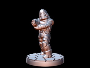 Dominion Enforcer (15mm scale)