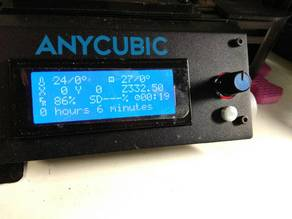 Stop button for Anycubic Kossel