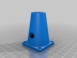 3D Printer Heatblock 40mm Air Intake Adapter