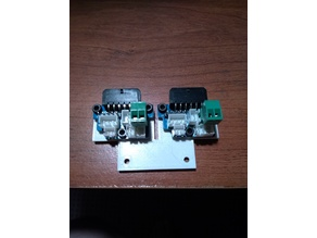 Dual Extension Board Mounting Plate