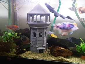 Aquarium Guard Tower