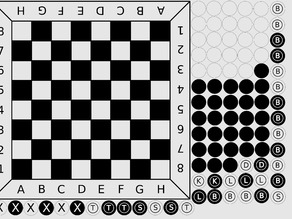 simple draughts & chess game