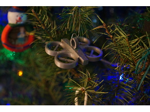 Drone Christmas Ornament (Parrot style)