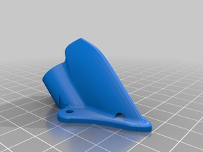 Astro-X Switch Minion/AXII Shark Fin Antenna mount
