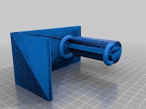 Filamenthalter für die Wand und Regalbord. Getestet bis 750gr Rollen