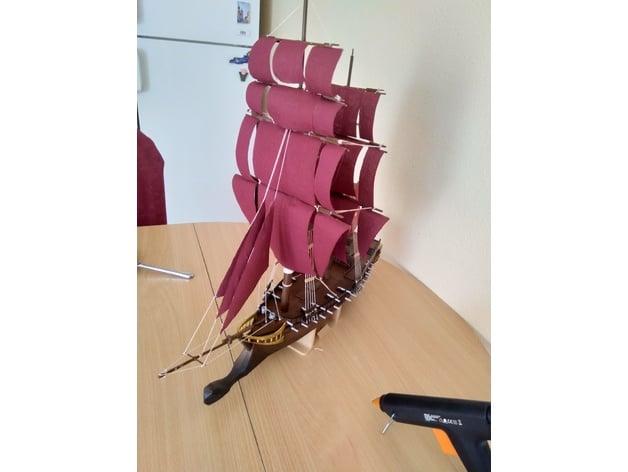Jackdaw Assassins Creed Iv Ship By Sceadugenga5 Thingiverse