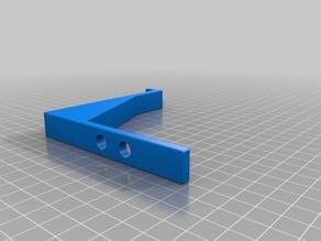 3d printed Shelf Secret Shelf with hidden compartment